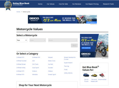 Motorcycle Main Page